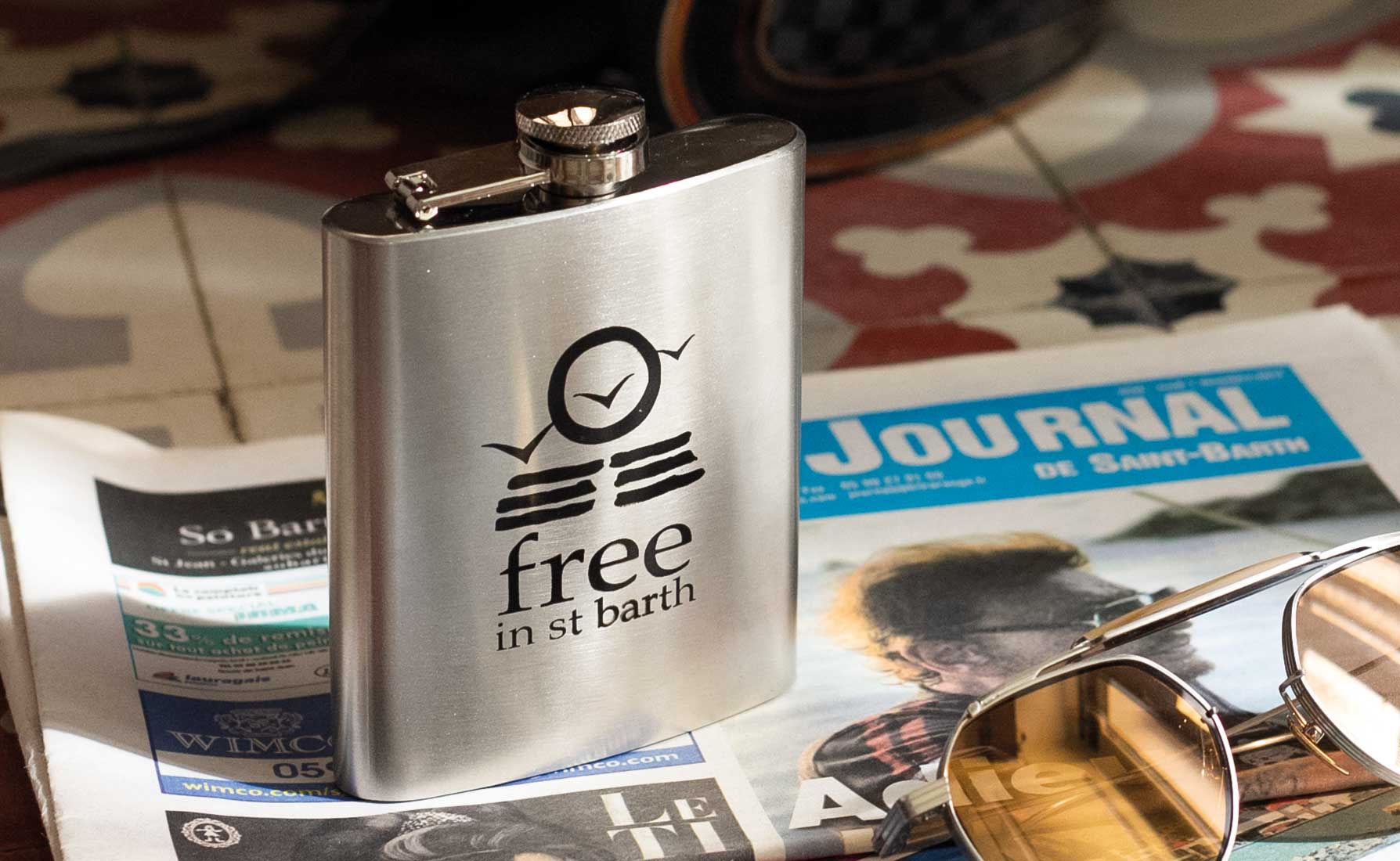 Free in St Barth | Flask