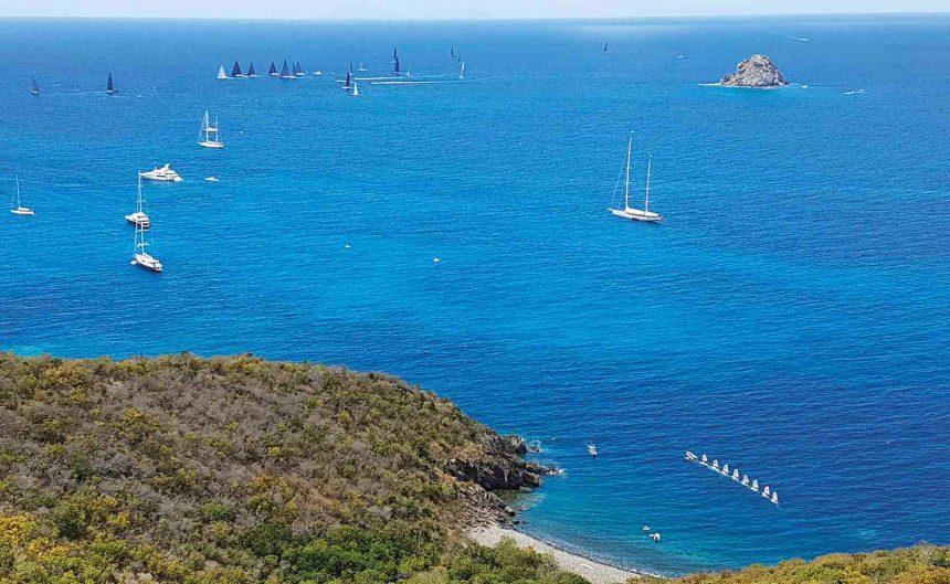 Free in St Barth   sailing   yacht club