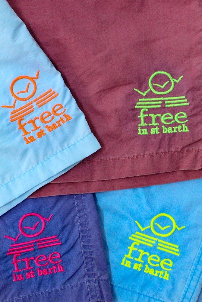 Free in St Barth | Adam boardshort