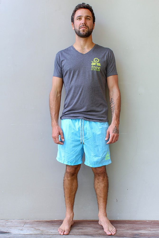 Free in St Barth | Adam boardshort