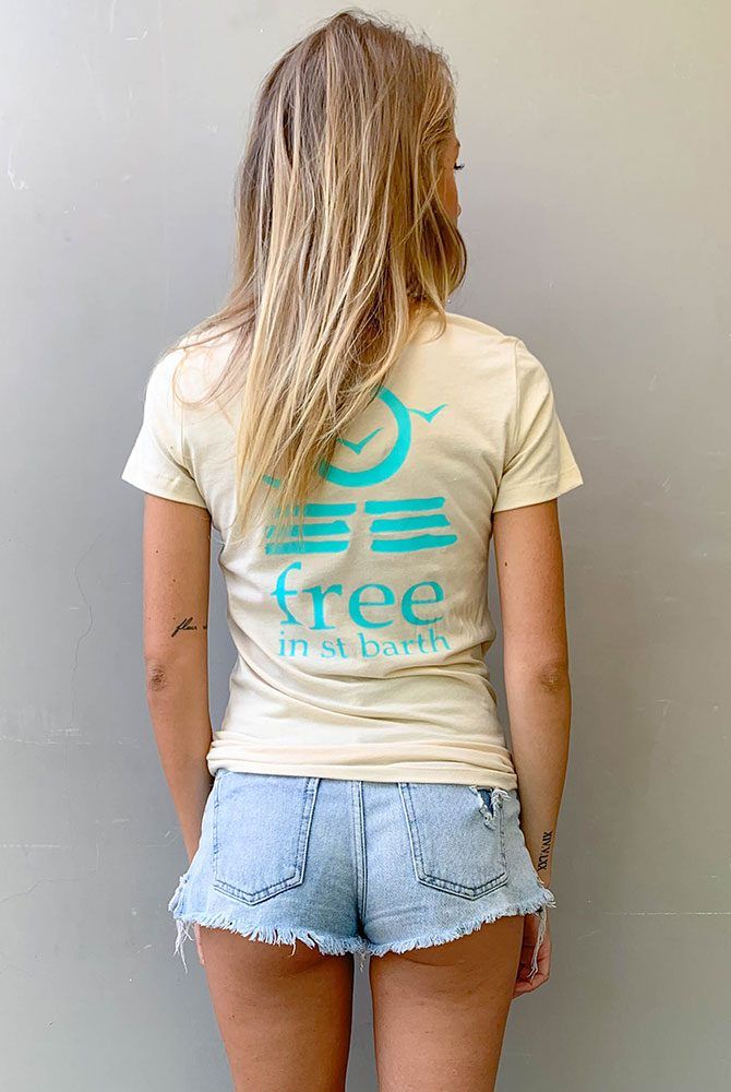 Free in St Barth | Hailey Tees