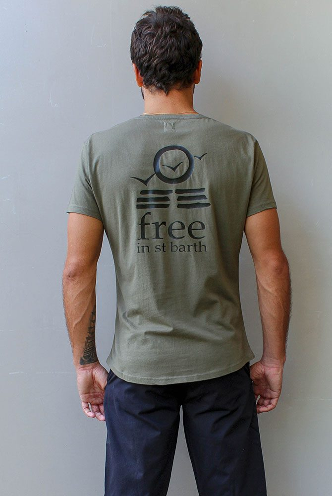Free in St Barth | Hugo crew neck tee